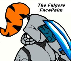 The Fulgore FacePalm :3 by conkeronine