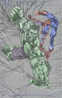 Hulk Meets Web..... by jakebilbao