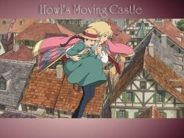 Howl's Moving Castle by Naatta