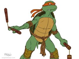 Turtle Power by madmaglio