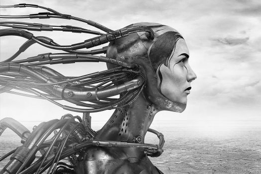 Wired cyber woman 3 (ad extremum illud est, manus) by CreativeDisput21