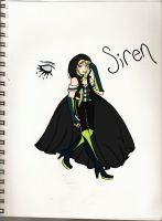 X-Friend OC :Siren: by BacterialCorruption