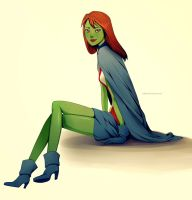 Young Justice: Miss Martian by Adenie