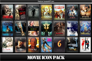 Movie Icon Pack 21 by FirstLine1