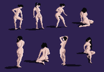 Pixel Figure Drawings, 2014-05-22 by zacharyknoles