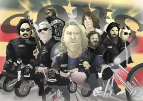 Sons of Anarchy by MatthewHogben
