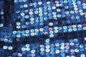 Blue Sequin Fabric 02 by R2krw9