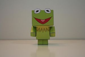 Kermit the Frog (Front) by Mikhaelo-Johanio
