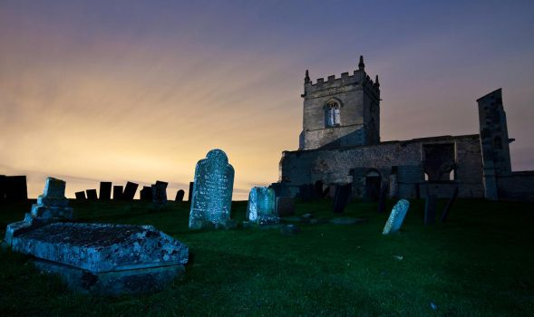 St Mary's by moonlight by RickMartindale
