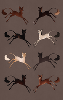 Fawn Imports Born Spring 759 - Monthly Art by Ehetere