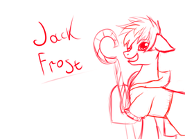 Jack Frost sketch by HorrorTime