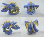 Acrobatic Dragon by claymeeples