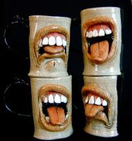Bad Coffee mugs by thebigduluth