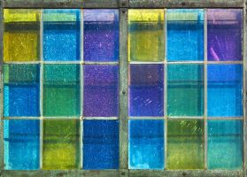 Window Colored Pieces by Limited-Vision-Stock