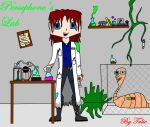 The Mad Scientist in her Lab by PersephoneWatching