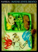 Korra: Avatar State Bento by mindfire3927