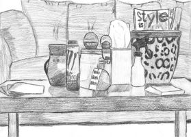 Still life drawing. by Ryker-da