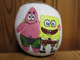 SpongeBob and Patrick by Timelady93