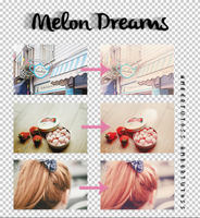 Melon Dreams - Action PS by AmberTutoss