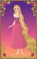 Rapunzel from 'Tangled'+Concept Art Version by LadyAquanine73551