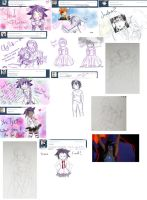 Art Dump - Roadsketches2 by Shinomori-Misao