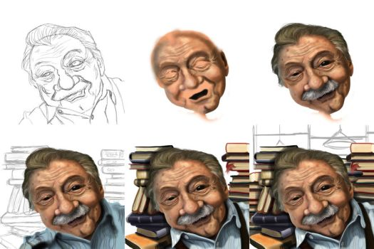 Mario Benedetti Process by DREDS-10