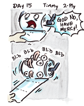 30characters - day 15 - timmy 2ply by not-fun