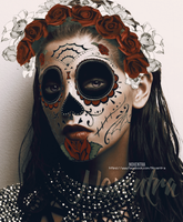 Ashley Greene // Day Of The Dead by N0xentra