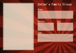 || Cottar's Family Circus || Application || by Marclenia