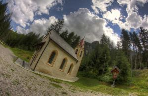 Vinschgau Church by filth666