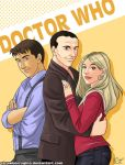 Doctor Who - 9th w Rose Jack by strawberrygina