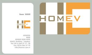 homev business card by nurie