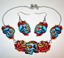 New Sugar Skull sets by Horribell-Originals
