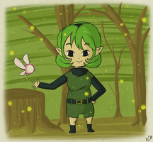 WW Saria by Icy-Snowflakes