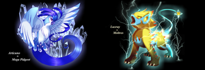Pokemon fusions3 by WaterSkies