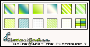 Lemongrass Color Pack+ by redbonniekidd