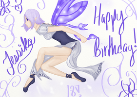 Happy birthday QueenJessika! by MelodicArtist
