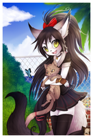 AT _Coco Nechan the Cat_ by Shide-Dy