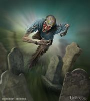 Zombie Chase by RaymondThornton