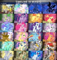 MLP Timeline Cover Set v4 by Paradigm-Zero