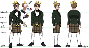 Mad King Ref Coloured by tsarnickyii
