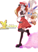 RenderO1 Female Protagonist Pokemon X and Y by Zooreck