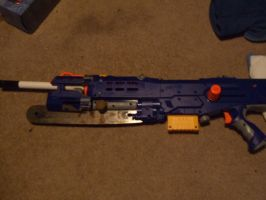 Prototype NERF Lancer by CrimsonFox36