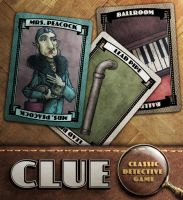 Clue: Mrs Peacock, Ballroom, Lead Pipe by IngvardtheTerrible