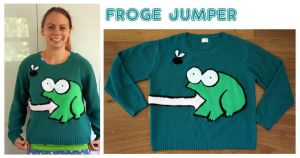 Froge jumper applique by scilk