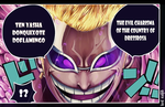 Donquixote Doflamingo one piece by Lord-Nadjib