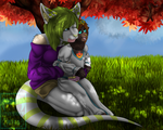 Mother and Daughter Time by Emothivamp-Art