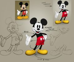 Epic Mickey model by Hamilton74