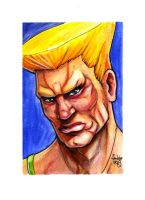 sc Street Fighter II Guile by fedde