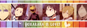 Durarara color bar by Axela-The-Nobody